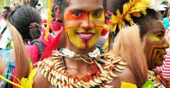 Papua Naujosios Gvinėjos mergina