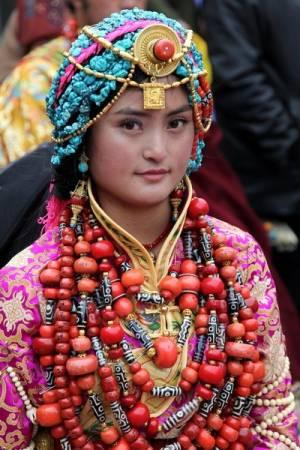Tibeto mergina