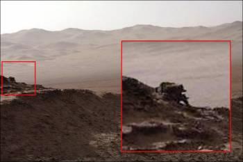 Ufologas Marse aptiko objektą panašų į mechaninį robotą