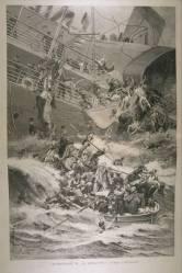 """Lainerio """"Burgonė"""" katastrofa, įvykusi 1898 m. liepos 4d"""