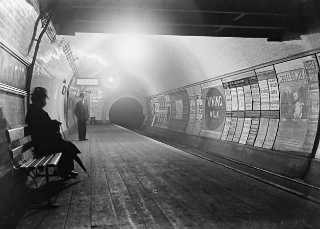 Londono metro vaiduokliai