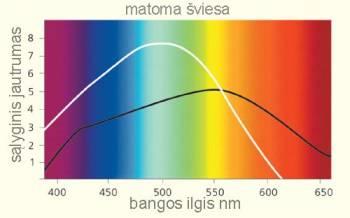 Saulės šviesos spektras
