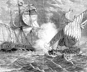 Piratų kovos ir plėšikavimas