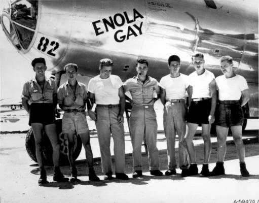 """Bombonešis B-29 """"Enola Gay"""""""