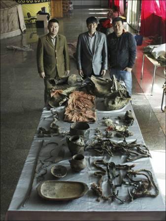 Pirma tokia rasta tiurkų kapavietė Mongolijoje