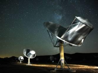 SETI instituto radijo teleskopai.