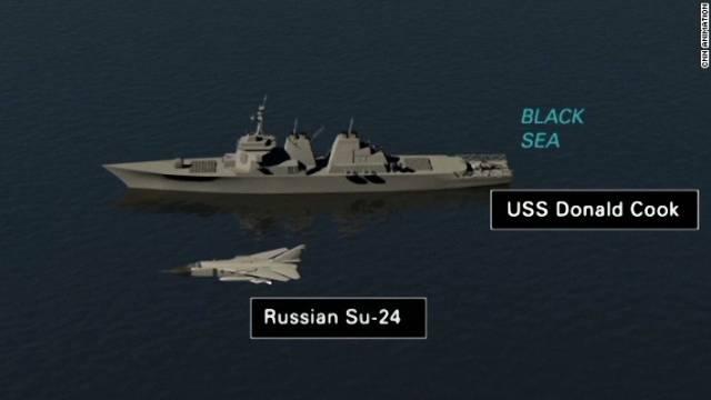 """Baltijos jūroje """"sunaikintas"""" JAV karo laivas """"Donald Cook"""""""