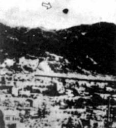 Virš Hirosimos buvo matyti NSO