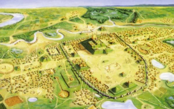 Misisipės kultūros paslaptis - Kahokijos pilkapiai