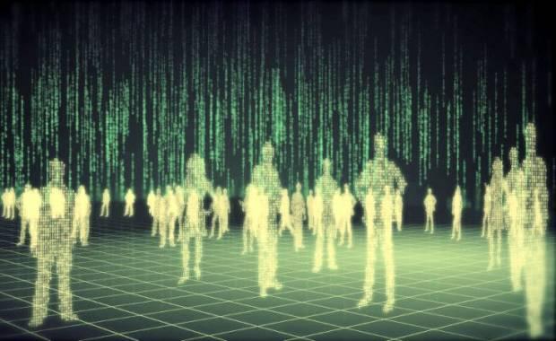 MES – didžiulė holograma
