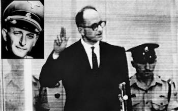 Adolfas Eichmannas buvo aukštas nacionalsocialistų partijos pareigūnas