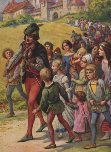 Masinio vaikų išėjimo iš Hamelno mįslė