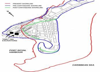 Žemės drebėjimai Port Rojalyje